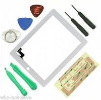 white Touch Screen Glass screen Digitizer Replacement for ipad 2 2nd a1395 A1397