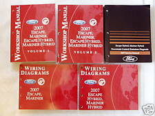 2007 Escape, Mariner, Escape & Mariner Hybrid Manuals
