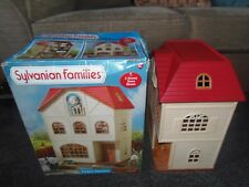 Sylvanian families Cedar terrace 3 Storey Town House family with Box