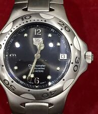Mens Gents Tag Heuer KIRIUM Chronometer 200M watch Automatic Salmon Dial WL5214