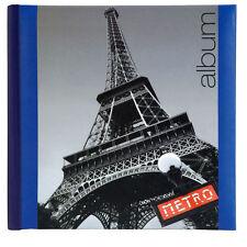 Iconic City Paris with Eifel Tower in 6x4 Slip Photo Album - 300 Photos