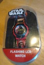 Vintage Star Wars Flashing LCD watch, running new in plastic NR B