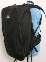 L.L. Bean 4 Day Alpine Black Expandable Hiking Camping Backpack Bookbag