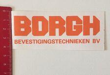 Aufkleber/Sticker: BORGH - Bevestigingstechnieken BV (100616196)
