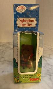 Sylvanian Families BUD TIMBERTOP NRFB Originals Brown Bear Family 2846 Critter