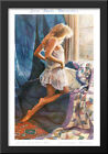 A Winter's Day 28x40 Extra Large Black Wood Framed Art Print by Steve Hanks