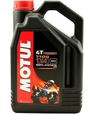 Huile MOTUL 7100 10W40 moto scooter quad Factory Line Road 4 litres 4 temps