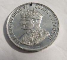 1939 Cadbury Royal Visit to Canada Medal King George VI Queen Elizabeth Token