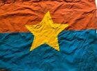 FLAG , 1 VC Vietcong Flag,  RED FLAG W YELLOW , NVA FLAG  VIET CONG  ,.