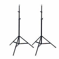 2Pcs Studio Photography Light Aluminum Adjustable Stand Support Tripod Holder