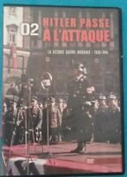 DVD LA SECONDE GUERRE MONDIALE 1939-1945 HITLER PASSE A L'ATTAQUE Ref 0414