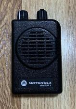 Motorola Minitor V Single Channel 450 4579875 Mhz Rle1081a A04kms9238cc