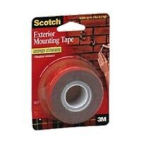 """NEW 3M 4011 USA MADE HEAVY 1"""" X 60"""" DOUBLE SIDED EXTERIOR MOUNTING TAPE"""