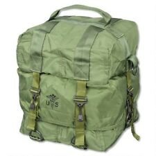 LARGE MILITARY MEDICAL SUPPLY BAG FIRST AID M17 TRI-FOLD PACK OD GREEN A2