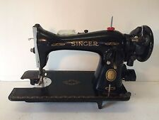 Singer Sewing Machine No.15 Vintage Antique Nice Shape Looks GREAT