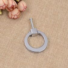 1 Pc Wardrobe Ring Pull Handle Alloy Cupboard Cabinet Drawer Knob Modern