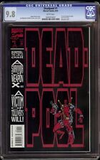 Deadpool # 1 CGC 9.8 White (Marvel, 1993) Deadpool's first series