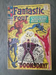 FANTASTIC FOUR 59 Inhumans Free Shipping!