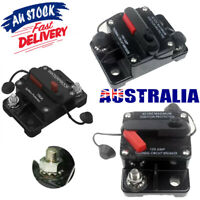 30A-300A AMP Circuit Breaker Dual Battery Manual Reset Waterproof 12-48V Fuse