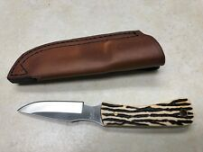 Schrade 301UH Uncle Henry Skinner Fixed Blade Knife W/Leather Sheath