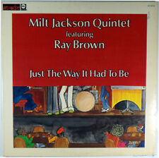 MILT JACKSON-RAY BROWN-JUST THE WAY IT HAD TO BE-TEDDY EDWARDS MONTY ALEXANDER