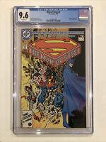 Man Of Steel #3 CGC 9.6 John Byrne SUPERMAN 1986