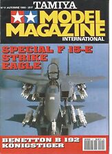 TAMIYA - MODEL MAGAZINE N°11 SPECIAL F 15-E / STRIKE EAGLE / BENETTON B 192