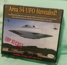 "Testors Model Kit 1:48 576 ""Area S4 Ufo Revealed"" Top Secret / Bob Lazar"