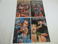 Double Impact Lot (Vol. 1) #2 3 4 7 lot of 4 early issues 1995 High Impact