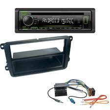 Kenwood CD USB autoradio para VW Caddy Beetle Amarok 1-din diafragma + adaptador ISO