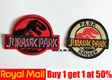 Jurassic Park Park Ranger Patches Badges Jurassic world Iron On Sew On