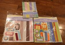 Miss Elizabeth's Scrapbook Kits Lot
