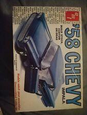 Amt '58 Chevy Impala 1:25th Model Car Factory Sealed