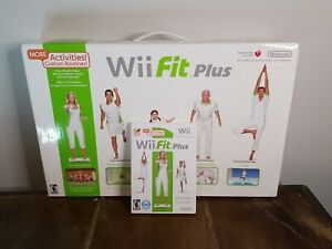 Wii Fit Plus with Wii Balance Board Tested & Working