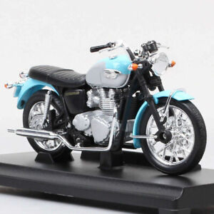 Welly Scale 1/18 Triumph Bonneville 2002 Retro Motorcycle Model Diecast Toy