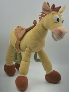 Walt Disney Store Toy Story Bullseye Woodys Brown Horse Plush Stuffed Toy Animal