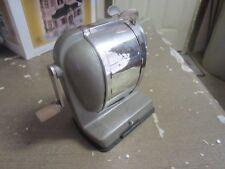 Vintage Boston Vacuum Mount Self Feeder Pencil Sharpener Retro School Office D8