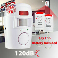 Wireless Safety IR PIR Motion Detector Sensor Intruder Burglar Alarm 2 Remote
