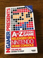 NGAMER PRESENTS A TO Z OF EVERY GAME RELEASED ON A NINTENDO HOME CONSOLE UK 2008