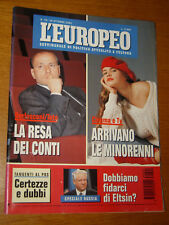 L'EUROPEO 1993/42=FEDERICA FERRATI=SALVATORE VECA=GENE GNOCCHI=SNELLENBURG B.