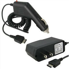 AC Wall Home Charger & DC Car Chargers for AT&T Samsung Solstice SGH-A887 M300