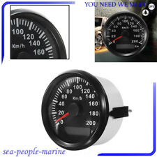 85mm 200 KM/H For Car Motor Stainless GPS Speedometer Waterproof Digital Gauge