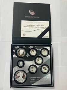 2016 US Mint Limited Edition Silver Proof Set