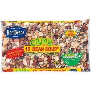 ( 4 Pack ) Hurst Hambeens 15 Bean Soup, Cajun, 20 oz