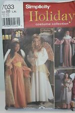 Simplicity Holiday Costume Collection Women Size BB L XL UNCUT