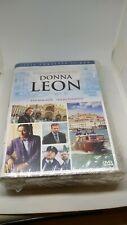 DONNA LEON COMISARIO BRUNETTI 17 DVD SERIE COMPLETA NUEVO y precintado