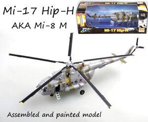 Russian Mil Mi-17 AKA Mi-8 M hip helicopter 1/72 no diecast plane Easy model