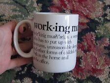 Beard  McKie Well Defined Giftware 1988 Working Mother defination humor mug fun