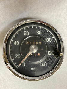 Used 140 MPH SPEEDOMETER GAUGE VDO MERCEDES 190 220 230 250 SE SL W113 W111 W121