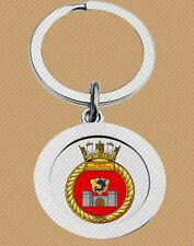 HMCS PORTE DAUPHINE KEY RING (METAL) ROYAL CANADIAN NAVY